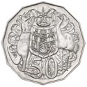 Australian Fifty Cent - Reverse
