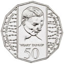 Australian Fifty Cent - 50th anniversary of the end of WWII