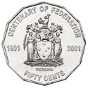 Australian Fifty Cent - Centenary of Federation VIC