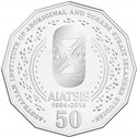 Australian Fifty Cent - 50th Anniversary of AIATSIS Reverse