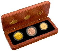 Royal Australian Mint product with Crest Logo