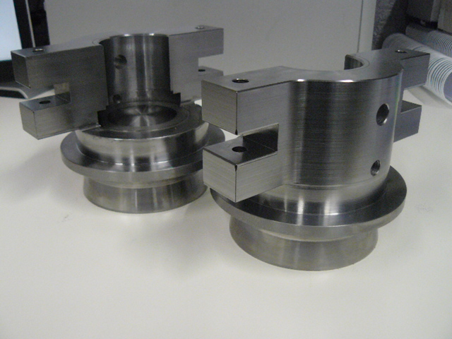 Large components CNC machined