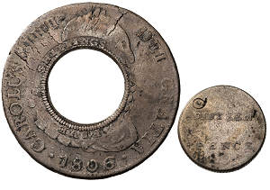 Holey Dollar and Dump - First Minted Currency of Australia