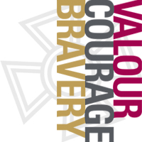Valour, Courage, Bravery Logo