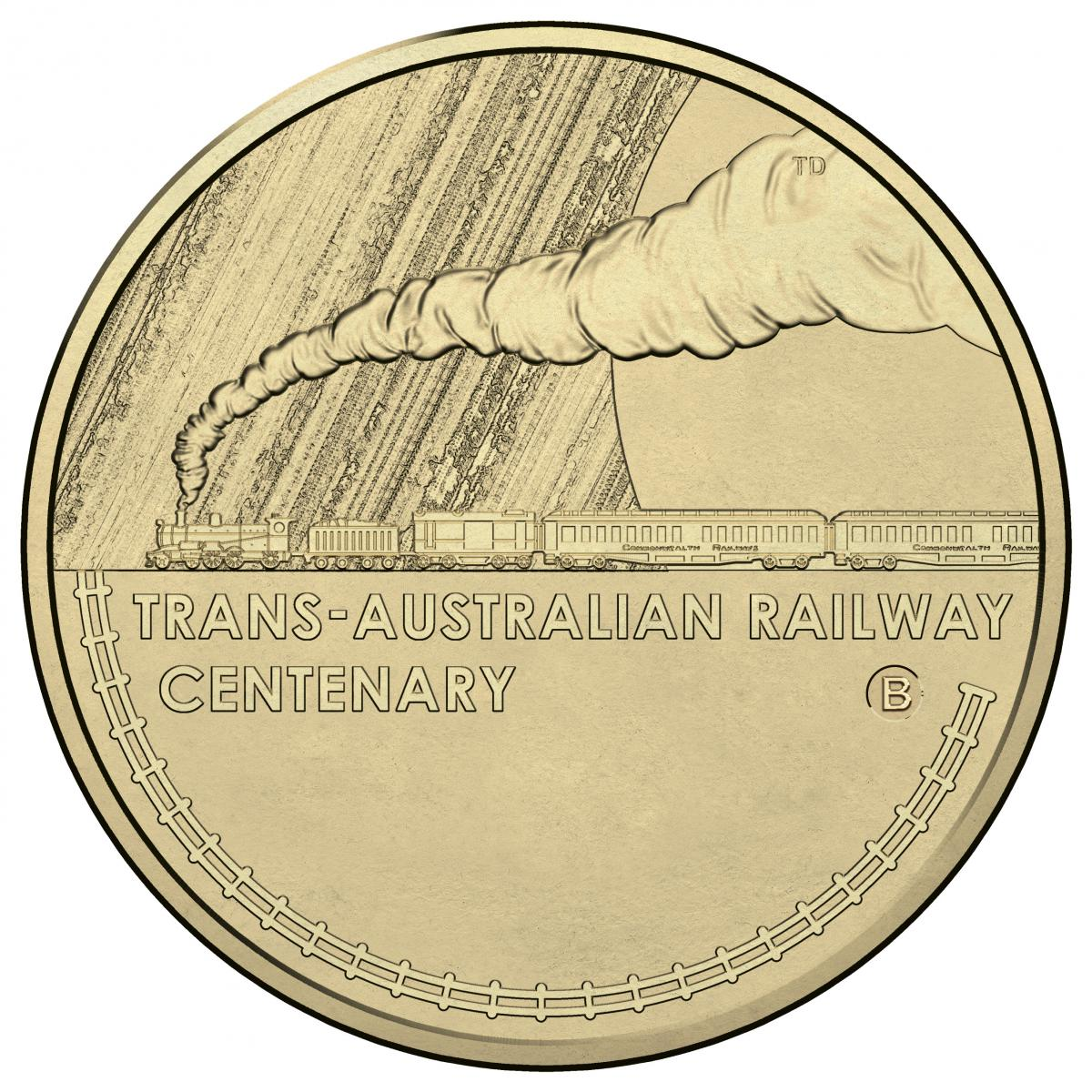Image of the b counter stamp mintmark