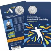 2017 20c International Day of People with Disability Unc Coin_Packaging