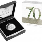 2017 50c Royal 70th Wedding Anniversary Proof packaging