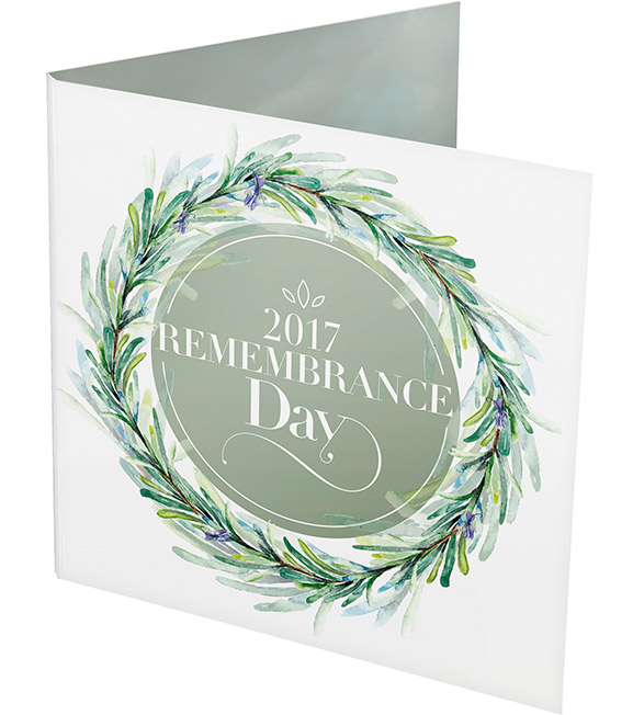 $2 Remembrance Day Coin Packaging
