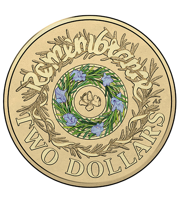 $2 Remembrance Day Coin