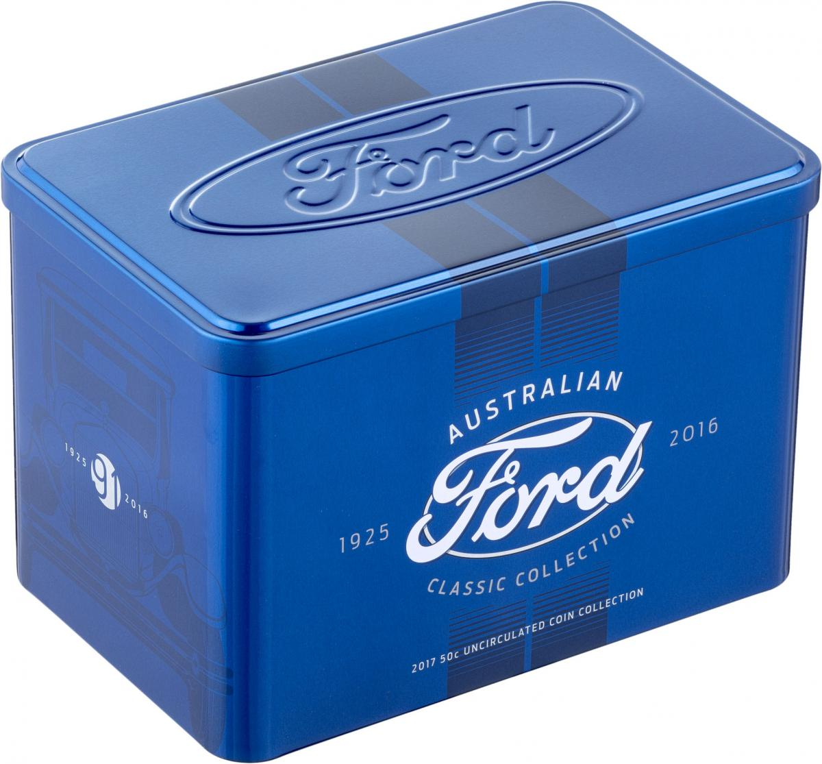 2017 Empty Ford Collection Tin