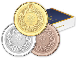 2018 Commonwealth Games 3 Coin Set