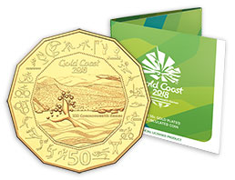 2018 Commonwealth Games 50cent Coin