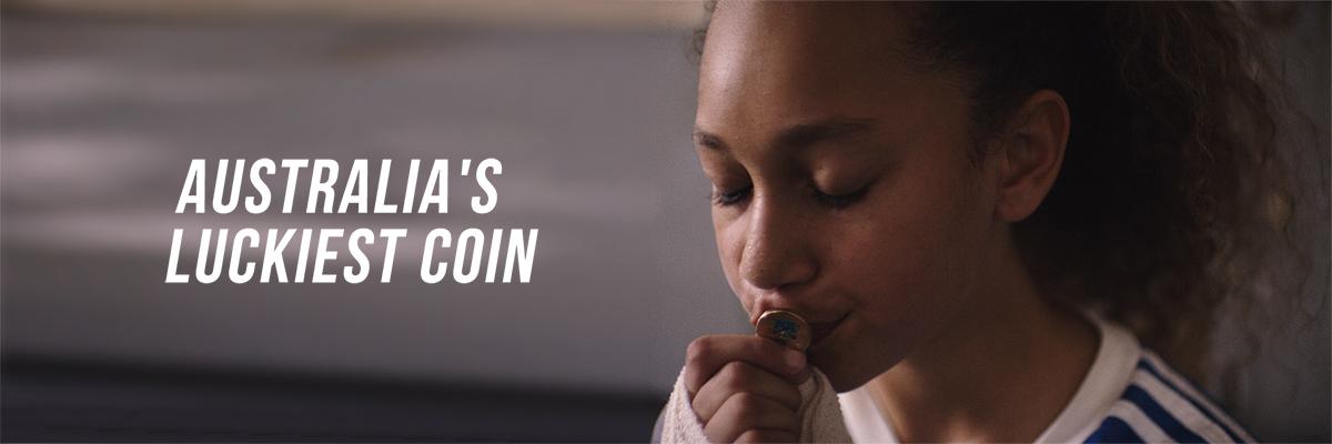 Australia's luckiest coin