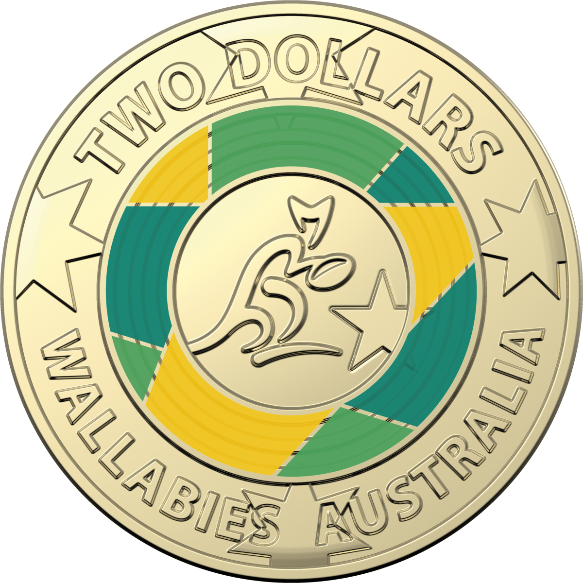 The Royal Australian Mint Releases Limited Edition Wallabies Coin To Celebrate The Wallabies Road To Japan Royal Australian Mint