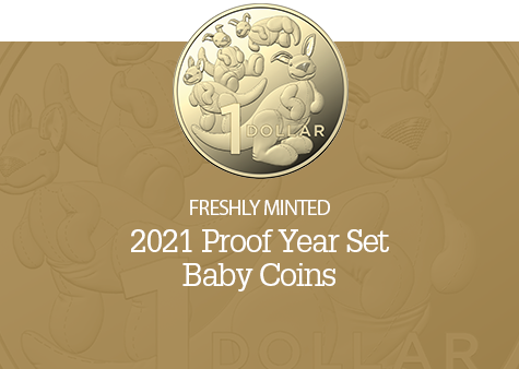2021 6 Coin Baby Proof Set