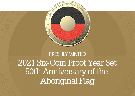 2021 50th Anniversary of the Aboriginal Flag Proof Set