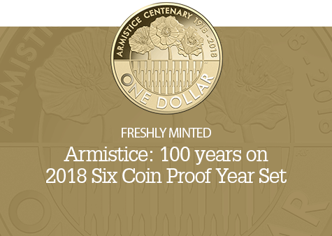 2018 Six Coin Proof Year Set