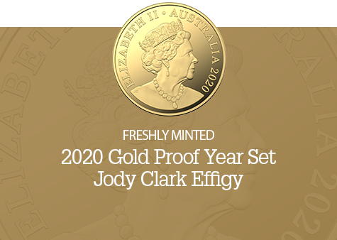2020 Gold Proof Year Set-Jody Clark Effigy
