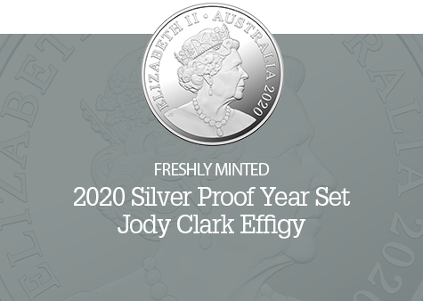 2020 Silver Proof Year Set - Jody Clark Effigy