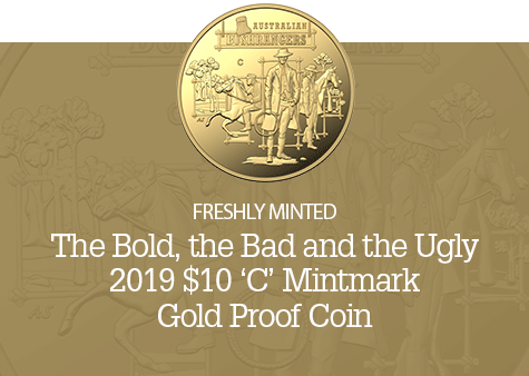 2019 $10 'C' Mintmark Gold Proof Coin