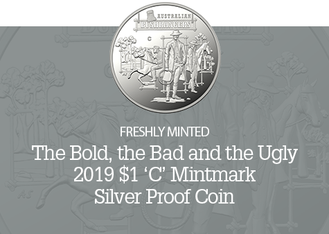 2019 $1 'C' Mintmark Silver Proof Coin