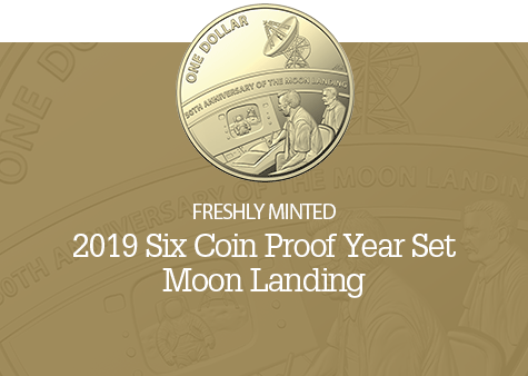 2019 Six Coin Proof Year Set