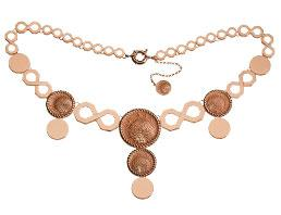 Eternity Collection Rose Gold Necklace