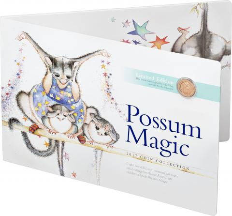 Image od the Possum Magic Coin set and folder