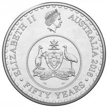 2016 20c Circulating Coin - 50th anniversary of decimal currency