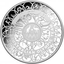 2016 $30 Fine Silver Proof Coin - 1 kilogram