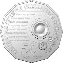 2019 50c Uncirculated Coin - ASIO