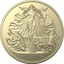 2019 $1 Uncirculated Treaty of Versailles Coin
