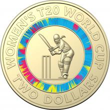2020 $2 T20 World Cup Coin