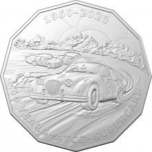 2020 50c uncirculated supercars commemorative Coin