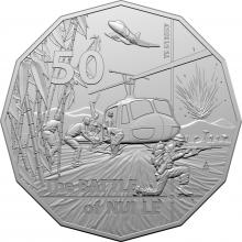2021 50c Uncirculated Coin - Battle of Nui Le
