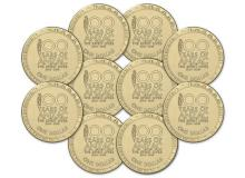 Image of 10 100 years of Anzac: The Spirit Lives Circulating coins