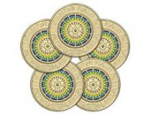 Image of 5 Lest W Forget circulating coins
