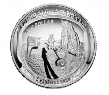 Appoloo 11 50th Anniversary Clad Half Dollar Coin