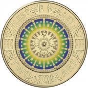 Australian Two Dollar - Hahne Reverse (no initials)